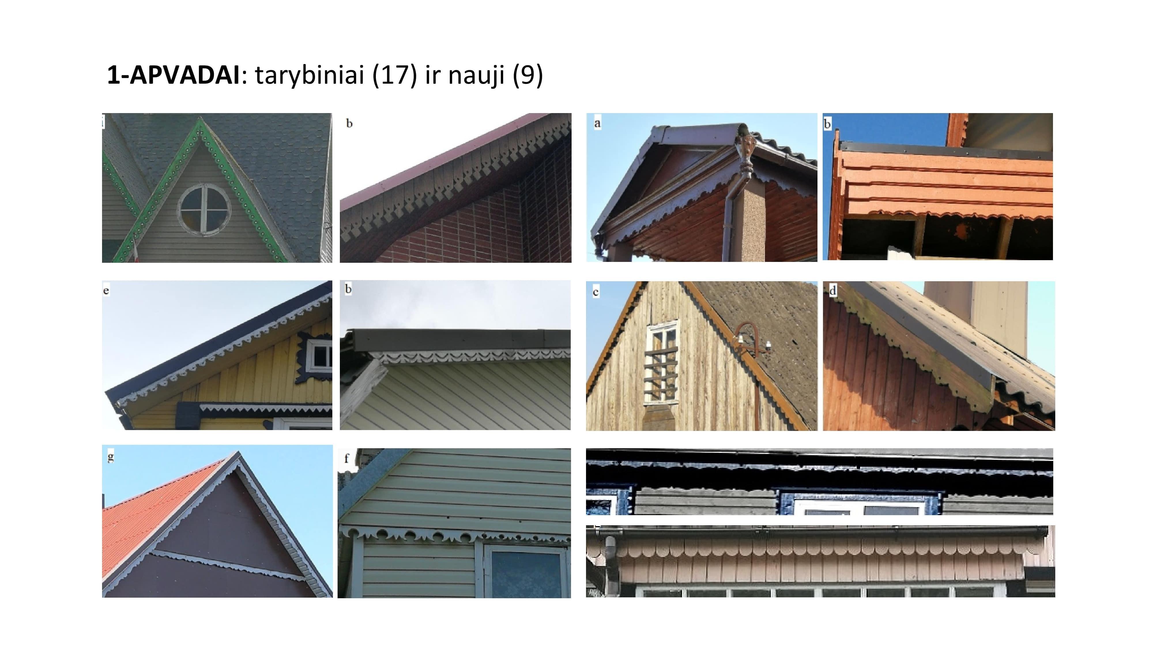 tarybinio laikotarpio ir naujieji apvadai pastatų eksterjere